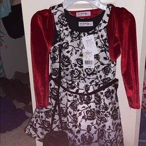 Brand New Dress, sweater, and purse 5T